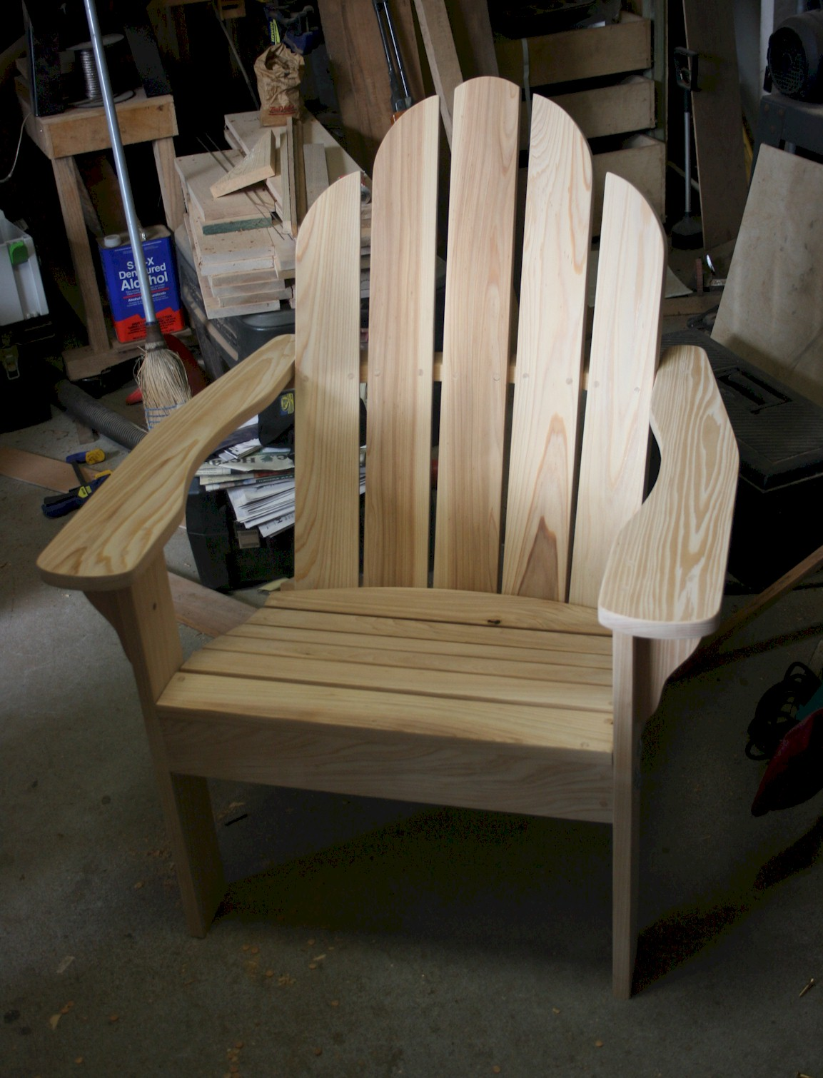 This Is A Classic Adirondack Chair Made From Cypress With Brass U0026 Stainless  Steel Fasteners.